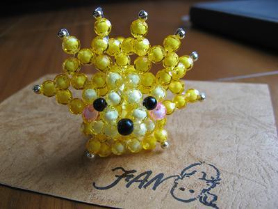这是我用串珠作的各种小动物! 十分可爱.