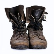 old army leather boots