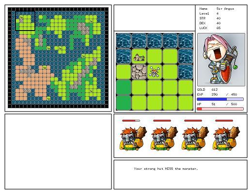 OpenGL RPG Visual C++