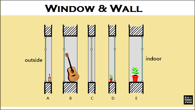 window and wall design