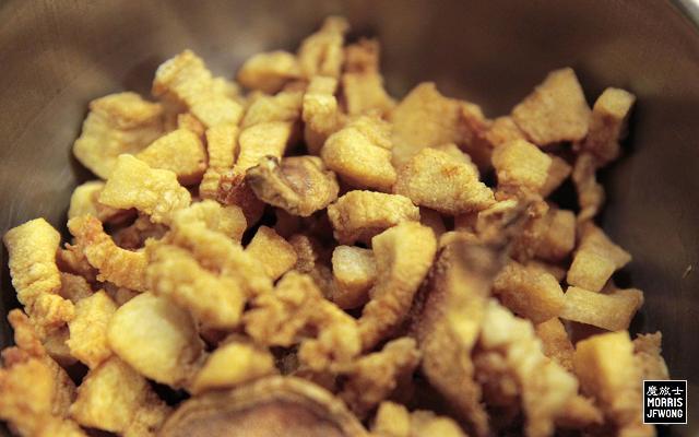 pig oil residue