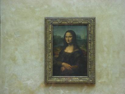 羅浮宮三寶:蒙娜麗莎的微笑