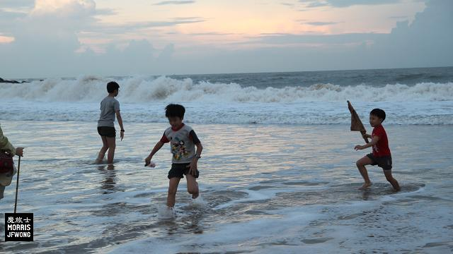 kinmen beach playing